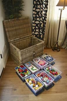 aufbewahrung spielzeug wohnzimmer box spielsachen korb