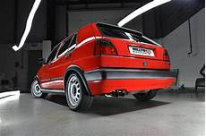 volkswagen golf gti mk2 8v performance exhaust system by