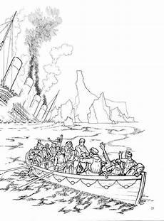 Gratis Malvorlagen Titanic Die Titanic Geht Runter Rh Titanic Malvorlagen Kostenlos
