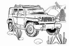 Bilder Zum Ausmalen Jeep Ausmalbilder Jeep 02 Carro Dibujo Dibujos P 225 Ginas Para