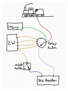 wiring layout for legacy and dcc o railroading line