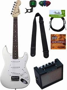 squier mini by fender squier by fender mini strat electric guitar arctic white w ebay