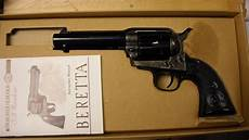 beretta 96 357 sig conversion barrel for sale beretta u s a corp stede 357 magnum 4 3 4 bbl cowboy gun box for sale at gunauction com