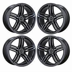 19 quot audi a5 s5 a 5 s 5 black chrome wheels rims factory