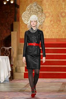 chanel in chanel pre fall 2009 collection vogue