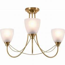 buy home symphony 3 light ceiling fitting antique brass at argos co uk your online shop for