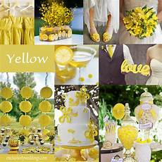 wedding ideas yellow and white wedding