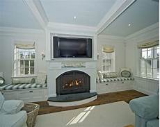 Ideas Next To Fireplace by Spaces Windows Next To Fireplace Design Pictures Remodel