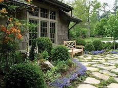 Charming Cottage Garden With Flagstone Pavers Hgtv