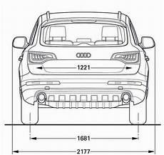 Audi Q7 Abmessungen Technische Daten L 228 Nge Breite