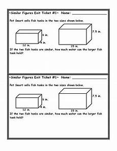 volume word problems worksheets with answers 11170 similar figures volume word problem exit ticket by eaton