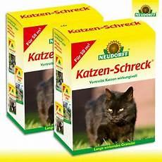 neudorff 2 x 200 g katzen schreck vertreibt katzen ohne