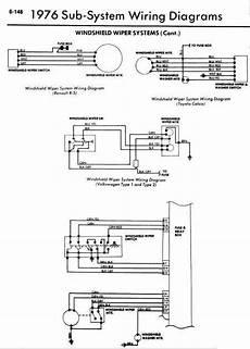 repair manuals 1976 windshield wiper wiring diagrams