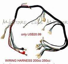 250cc wiring harness wiring harness 200 250cc electric start loncin zongshen ducar lifan ebay