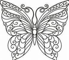 butterfly coloring page 38 zentangle schmetterling