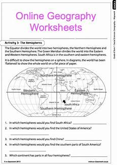 grade 6 online geography worksheets map work for more