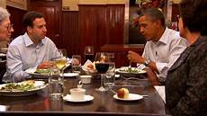dinner with barack two teachers an army veteran a small business owner and the president