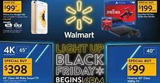 walmart releases its black friday ad for holiday shoppers with images walmart black friday