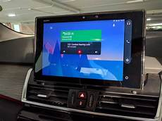 tablet im auto running standalone android auto on 10 quot tablet