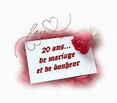 Anniversaire De Nos 20 Ans De Mariage 20 Ans De Mariage