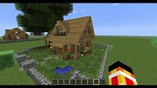 Maison Simple Tuto Minecraft