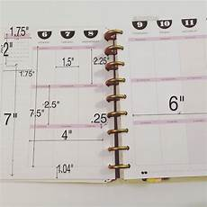 Planner Dimensions by For Anyone Who Needs Dimensions On The Happy Planners