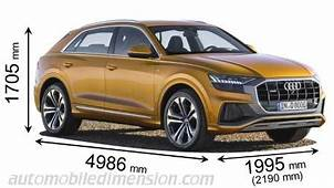 Dimensions Of Audi Cars Showing Length Width And Height