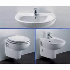 lavandini bagno dolomite vaso con coprivaso bidet lavabo e semicolonna sospeso