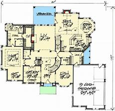 exclusive 3 bed house plan with game room plan 50618tr 4 bed house plan with third floor game room