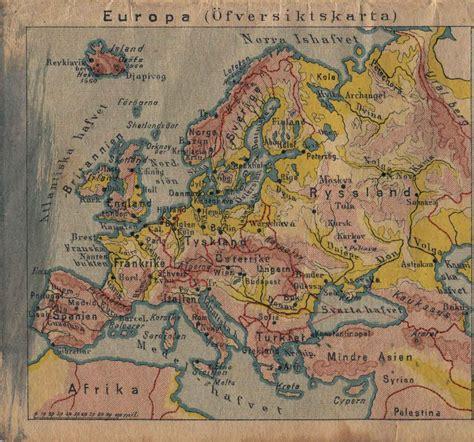 Kartbok Europa