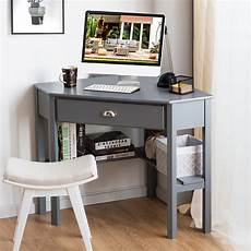 home office furniture walmart costway corner computer desk laptop writing table wood