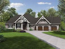 craftsman ranch house plans plan id chp 59968 coolhouseplans com ranch style