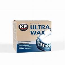Ultra Wax K2 Cire De Carnauba Pour Carrosserie De Voiture