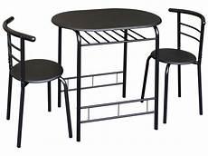 ensemble table et 2 chaises de cuisine coloris