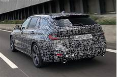 Spied Bmw 3 Series Touring Showing Its Goods