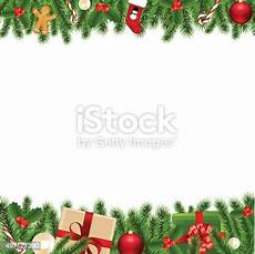 merry christmas borders stock vector art more images of 2015 497127390 istock