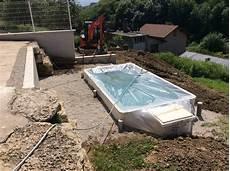 mini piscine enterrée mini piscine et couloir de nage europiscine