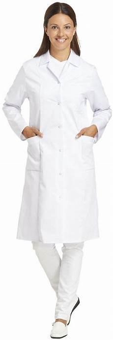Arbeitskleidung Kittel Weiß - leiber damen arbeits berufs mantel damenkittel 1 1 arm