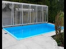 pool terrasse bauen bernhards flache poolabdeckung