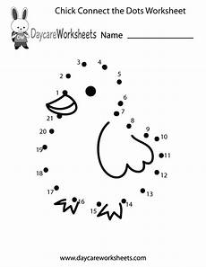 free printable connect the dots worksheets free preschool chick connect the dots worksheet
