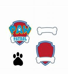 Paw Patrol Logo Malvorlagen Paw Patrol Svg Vector Logo Digital Dxf Svg Eps
