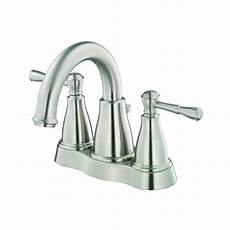 Bathroom Faucets Danze by Shop Danze Eastham Brushed Nickel 2 Handle 4 In Centerset