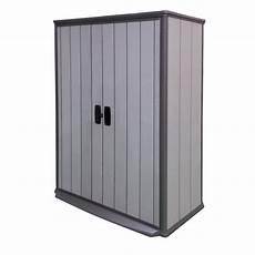 armoire de jardin en r 233 sine 1500 litres brossium grise