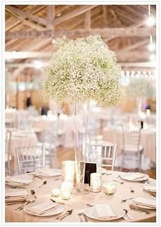 tall trumpet vases tall baby s breath vase centerpiece wedding reception decorations