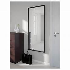 Nissedal Spiegel Zwart 65x150 Cm Ikea