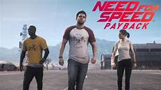 Need For Speed Payback Story Trailer Character