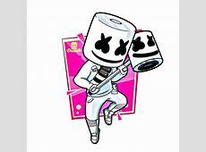 Marshmello Fortnite Fan Art Credit: Angel Darwin In Ins