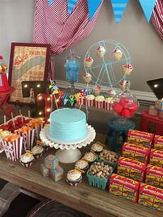 Vintage Circus Theme Baby Shower Created By Something Blue