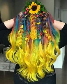 bright hair colors on pinterest bright hair rainbow hair and bright rainbow hair