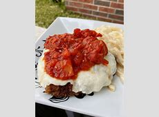 cube steaks with fresh tomato sauce_image